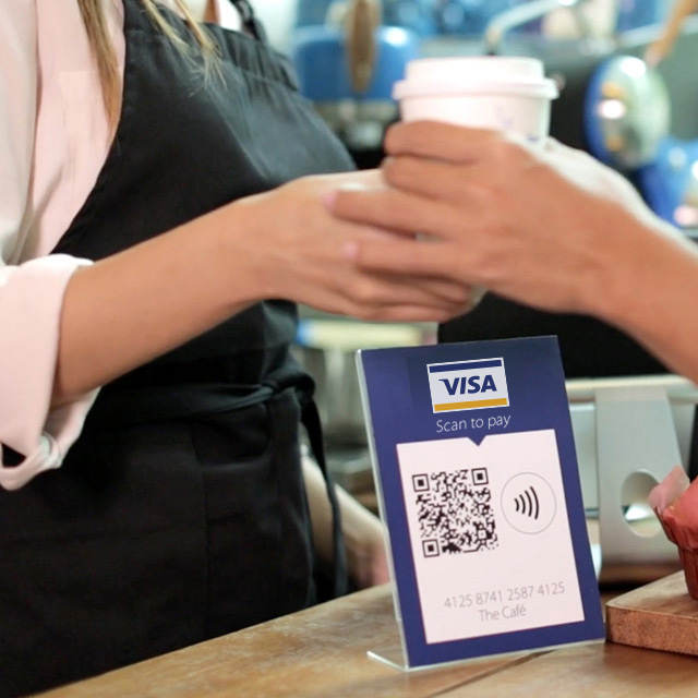 QR-код Scan to pay