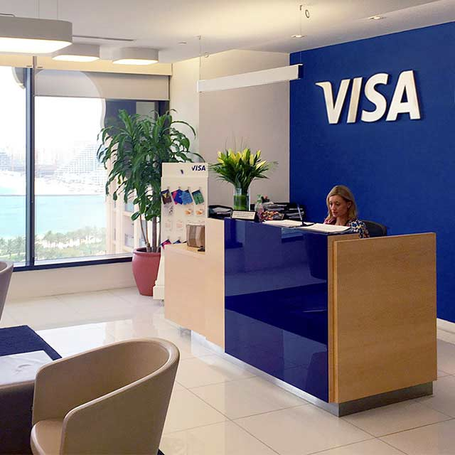 Visa, Dubai, Media City, Reception